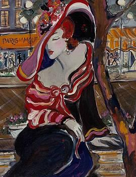Paris la Mouff by Elaine Elliott