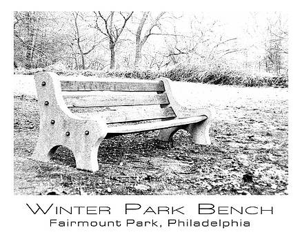 Park Bench by Jim Lucas