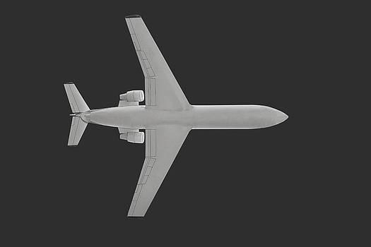 Passenger airplane. by Alexandr  Malyshev