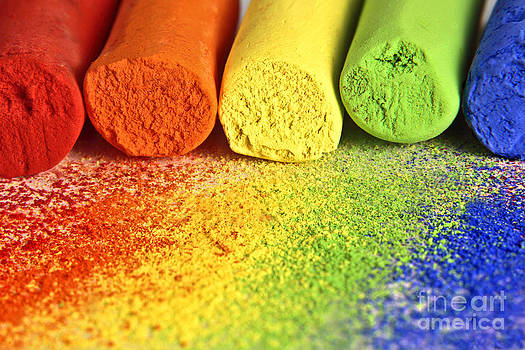Pastel Chalks by Pattie Calfy