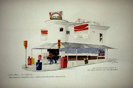 Pat's Steaks by William Renzulli