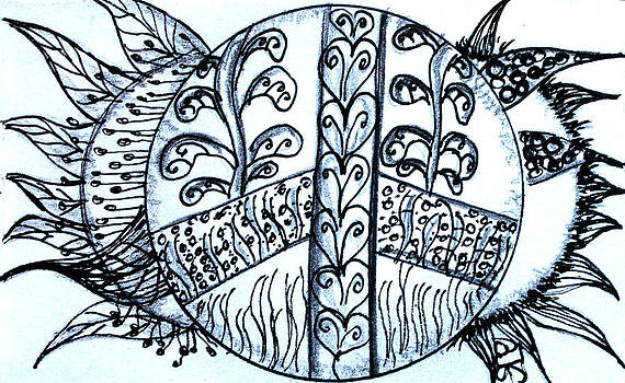Barbara Giordano - Peace Sun Flower