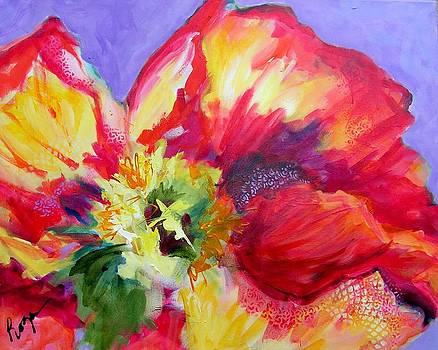 Pearl's Poppy by Judy  Rogan