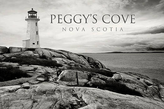 Peggy's Cove lighthouse by Ron Sumners
