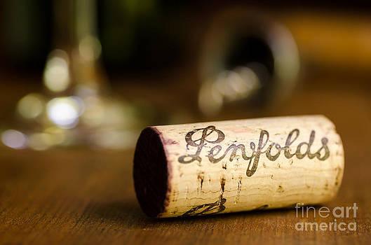 Penfolds Wine Cork Horizontal by Brycia James
