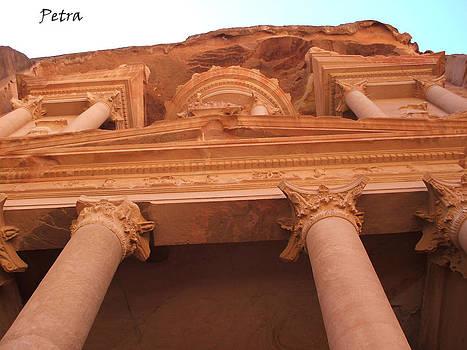 Petra - The Treasury by Tawfiq Alkilani