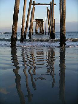 Pier Reflections by Keith McGill