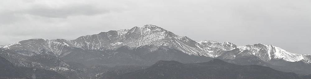 Pikes Peak Colorado by Amber Davenport