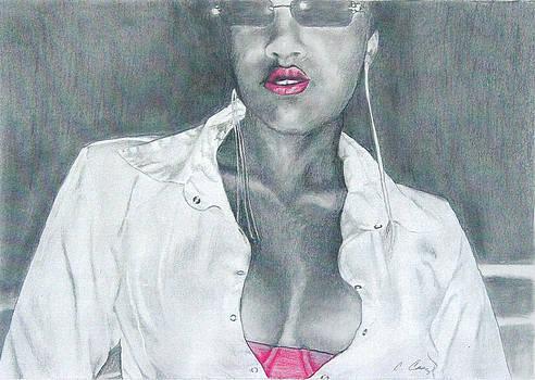 Pink Bra by Cheryl Casey Ramirez