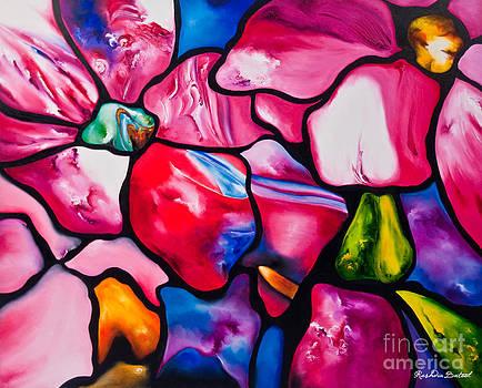 Pink Daisy Petals by Rushdia Batool