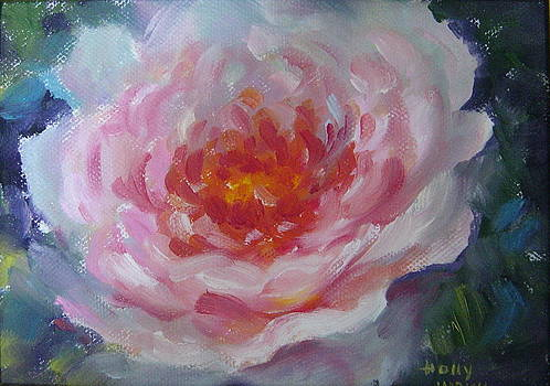 Pink Peony by Holly LaDue Ulrich