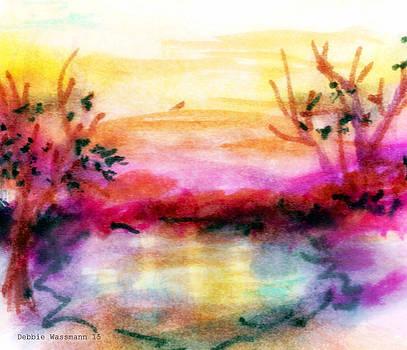 Pink Sunset by Debbie Wassmann