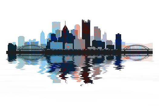 David Pringle - Pittsburgh Skyline