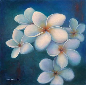 Plumeria by Jennifer Richards