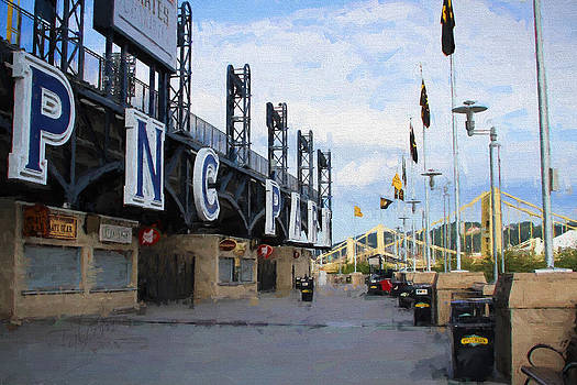 PNC Park Riverwalk Painting Look by Stephen Falavolito