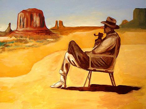 Poet in the Desert by Joseph Malham