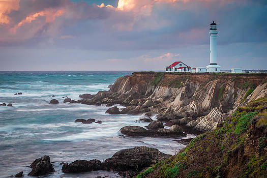 Point Arena Lighthouse by Mike  Walker