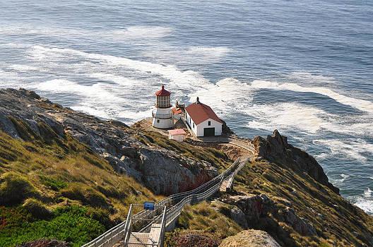 Point Reyes Lighthouse by Mischelle Lorenzen