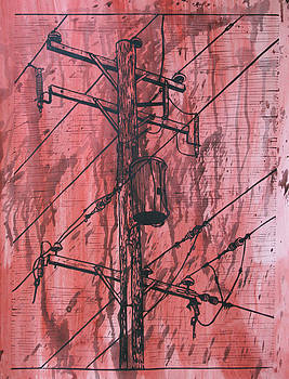 William Cauthern - Pole with Transformer