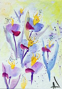 Patricia Lazaro - Pollinating Blossoms