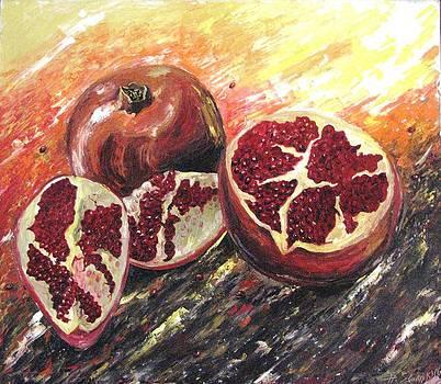 Pomegranate by Andrei Sorokin