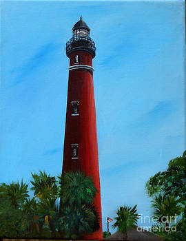 Ponce Inlet Lighthouse by Darlene Green