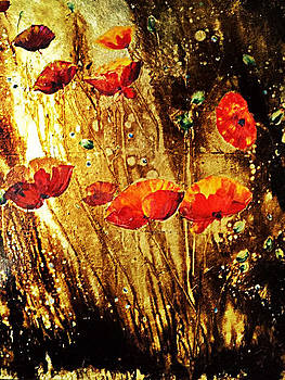 Poppies by Nelu Gradeanu