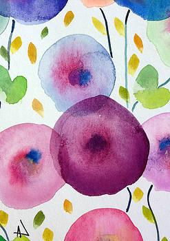 Patricia Lazaro - Poppies Glass Illusion
