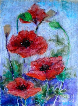 Poppies by Toshiko Tanimoto