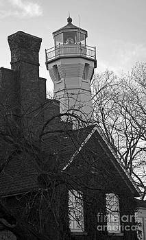 Port Sanilac Lighthouse   by Kathy DesJardins