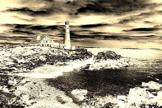 Portland Head Lighthouse by Paul Szakacs