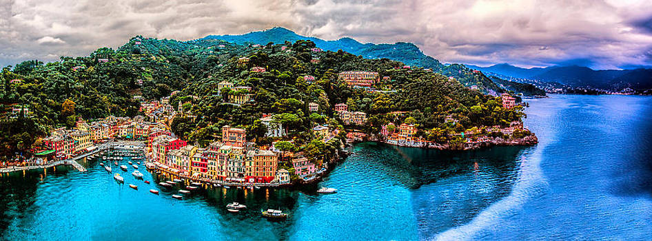 Portofino Italy 108 x 40 by Paul James