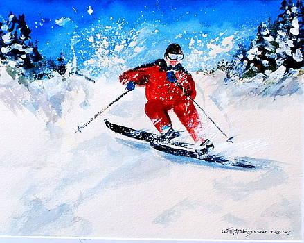 Powder Run by Wilfred McOstrich