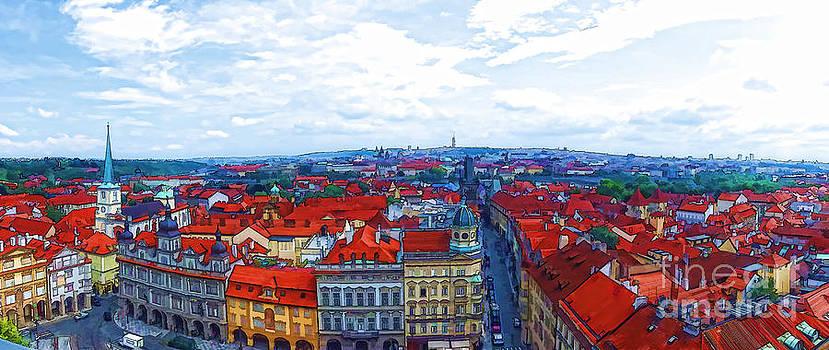 Justyna Jaszke JBJart - Prague - panorame