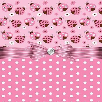Debra  Miller - Pretty Pink Ladybugs