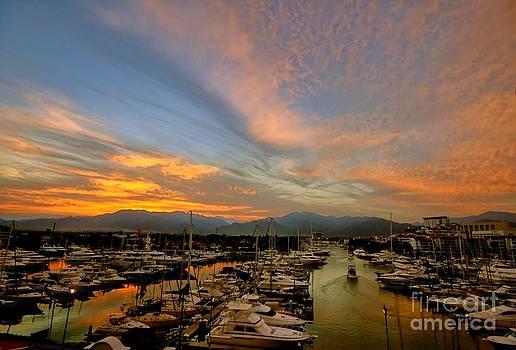 Puerto Vallarta Marina by Nicola Fiscarelli