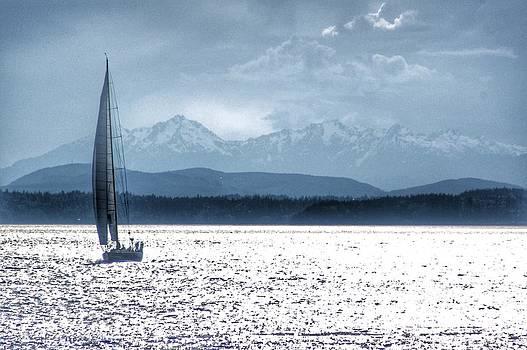 Kathy McCabe - Puget Sound Sailboat II