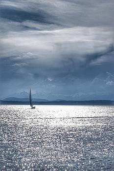 Kathy McCabe - Puget Sound Sailboat