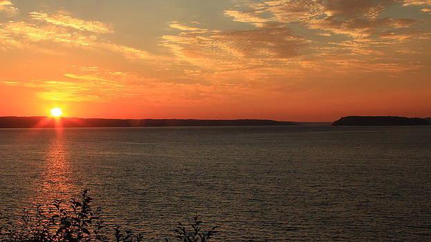 Marv Russell - Puget Sound Sunset