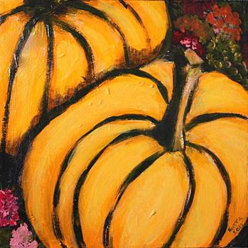 Pumpkins by Gitta Brewster