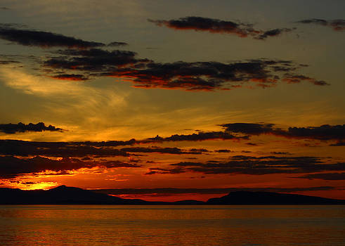 Randy Hall - Qualicum Sunset