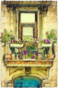 Quebec Window by Jill Balsam