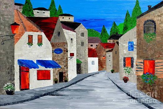 A Quiet town by Mariana Stauffer