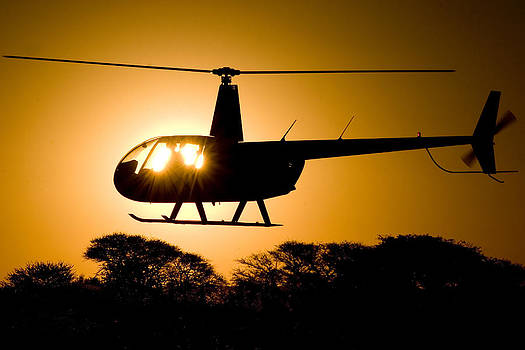 R44 Sunset by Paul Job