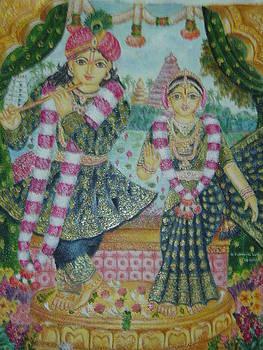 Radhakrishna by Parimala Devi Namasivayam