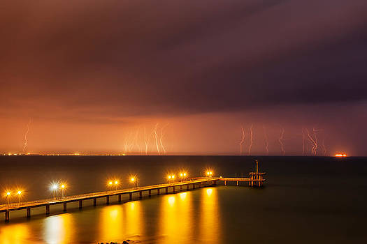 Rain of Lightnings by Evgeni Dinev