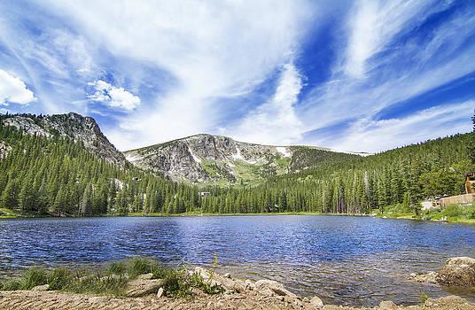 Colorado Mountain Lake by Mark Andrew Thomas