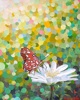 Red Butterfly by Victoria Lake