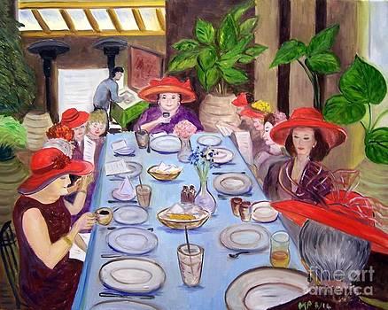 Red Hat Luncheon by Madeleine Prochazka