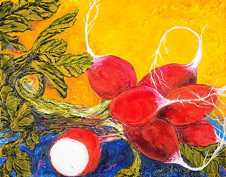Red Radishes by Paris Wyatt Llanso